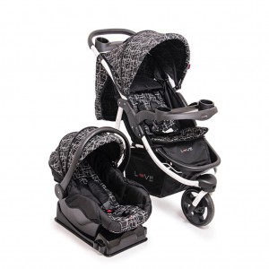 245 - COCHE TRAVEL SYSTEM NEGRO