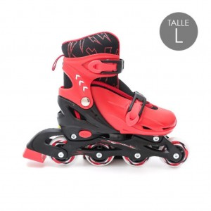 PATIN ROLLERS - 9500 NEGRO TALLE L