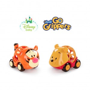 11323 - AUTOS POOH & TIGER GO GRIPPERS (X2U)