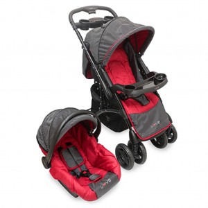 1241 - TRAVEL SYSTEM ROJO 43