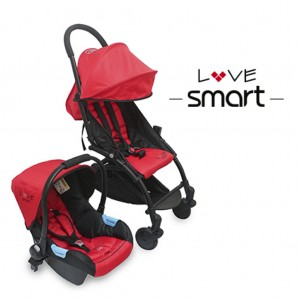 2004 - TRAVEL SYSTEM ULTRAPLEGABLE ROJO